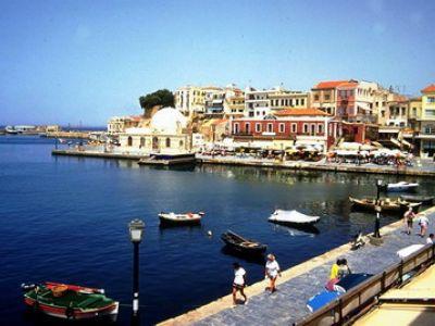 Описание и снимки на пристанище о-в Крит (Ханя), Гърция от круизен маршрут