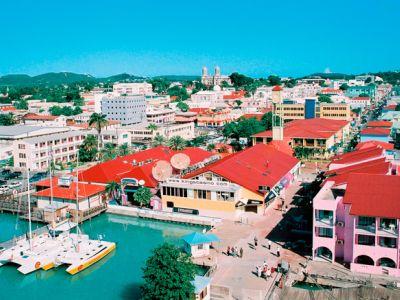 Описание и снимки на пристанище Сейнт Джоунс, Антигуа и Барбуда от круизен маршрут
