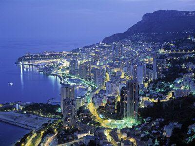 Описание и снимки на пристанище Монте Карло, Монако от круизен маршрут