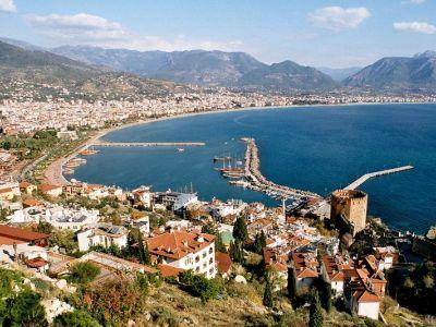 Описание и снимки на пристанище Алания (Анталия), Турция от круизен маршрут