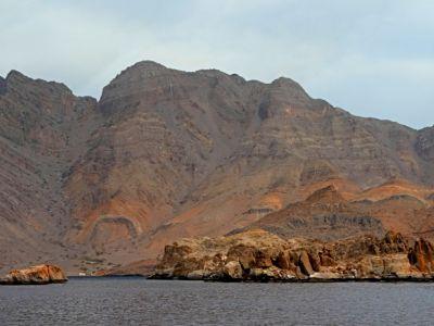 Описание и снимки на пристанище Касаб, Оман от круизен маршрут