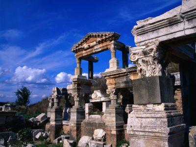 Описание и снимки на пристанище Кушадасъ (Ефес), Турция от круизен маршрут