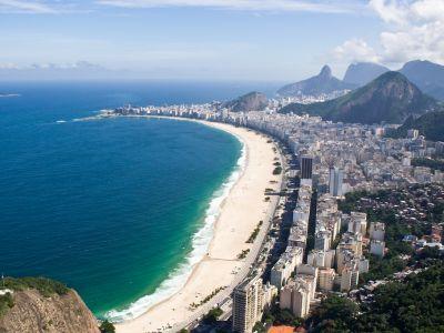 Описание и снимки на пристанище Копакабана , Бразилия от круизен маршрут