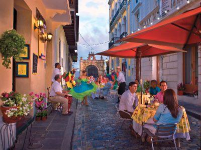 Описание и снимки на пристанище Сан Хуан (Пуерто Рико), Пуерто Рико от круизен маршрут