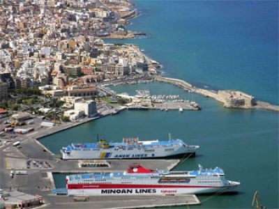 Описание и снимки на пристанище о-в Крит (Ираклион), Гърция от круизен маршрут