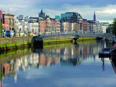 Описание и снимки на пристанище Дъблин, Ирландия от круизен маршрут