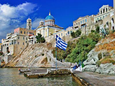Описание и снимки на пристанище о-в Сирос (Ермуполис), Гърция от круизен маршрут
