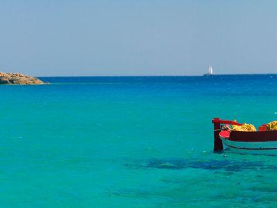 Описание и снимки на пристанище о-в Иос, Гърция от круизен маршрут