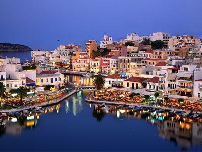 Описание и снимки на пристанище о-в Крит (Агиос Николаос), Гърция от круизен маршрут