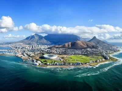 Описание и снимки на пристанище Кейптаун, Южна Африка от круизен маршрут