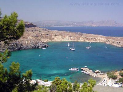 Описание и снимки на пристанище о-в Родос, Гърция от круизен маршрут