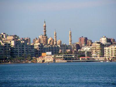 Описание и снимки на пристанище Александрия, Египет от круизен маршрут