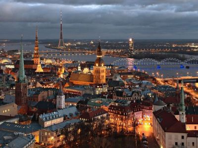 Описание и снимки на пристанище Рига, Латвия от круизен маршрут