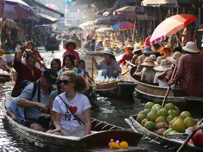 Описание и снимки на пристанище Банкок, Тайланд от круизен маршрут