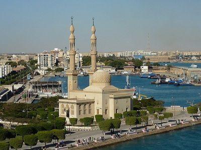 Описание и снимки на пристанище Суец - транзит, Египет от круизен маршрут