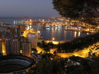 Описание и снимки на пристанище Малага, Испания от круизен маршрут