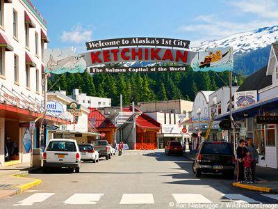 Описание и снимки на пристанище Кечикан (Аляска), САЩ от круизен маршрут