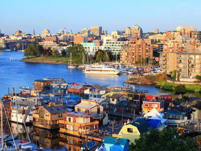 Описание и снимки на пристанище Виктория (Британска Колумбия), Канада от круизен маршрут
