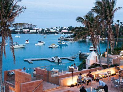 Описание и снимки на пристанище Роял Навал Докярд (Бермуда), Бермудските острови от круизен маршрут