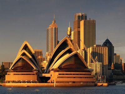 Описание и снимки на пристанище Сидни, Австралия от круизен маршрут