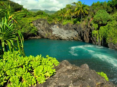 Описание и снимки на пристанище Лахайна (остров Мауи - Хавай), САЩ от круизен маршрут