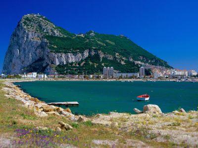 Описание и снимки на пристанище Гибралтар, Гибралтар от круизен маршрут