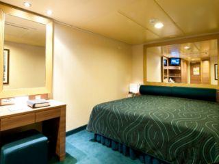 Описание на каюта Вътрешни каюти – клас Bella на круизен кораб MSC Splendida – обзавеждане, площ, разположение