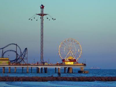 Описание и снимки на пристанище о-в Галвестън (Тексас), САЩ от круизен маршрут