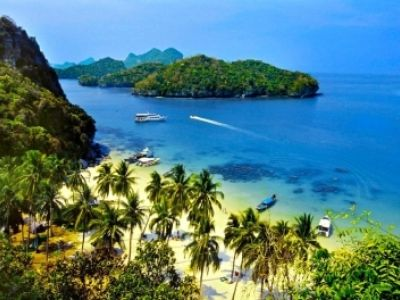Описание и снимки на пристанище о-в Ко Самуи, Тайланд от круизен маршрут