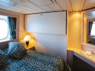 Описание на каюта Външни каюти - клас Bella на круизен кораб MSC Opera – обзавеждане, площ, разположение