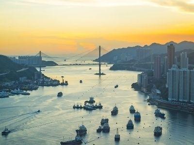 Описание и снимки на пристанище Хонг Конг, Хонг Конг от круизен маршрут