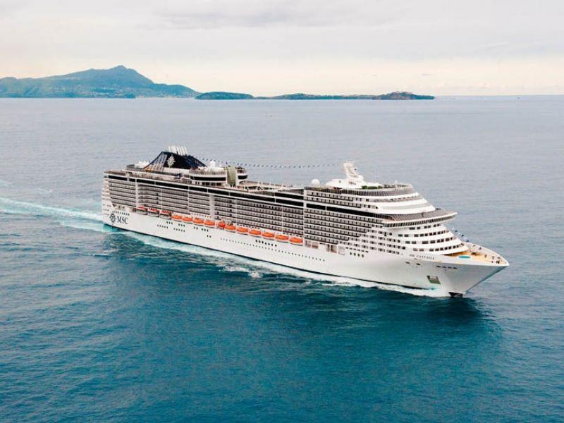 Круизен кораб MSC Fantasia на MSC Cruises