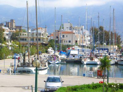 Описание и снимки на пристанище Каламата, Гърция от круизен маршрут
