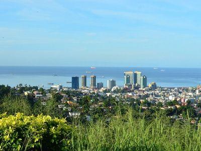 Описание и снимки на пристанище Порт ъф Спейн, Тринидад и Тобаго от круизен маршрут