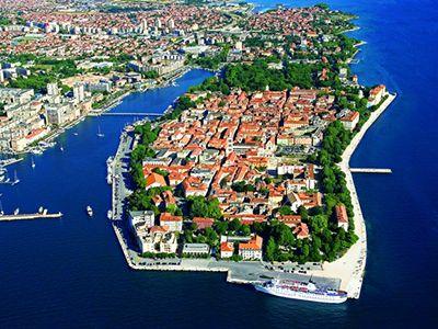 Описание и снимки на пристанище Задар, Хърватия (Хърватска) от круизен маршрут