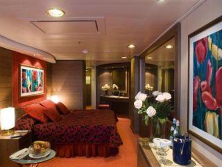 Описание на каюта Апартаменти Aurea  на круизен кораб MSC Musica – обзавеждане, площ, разположение