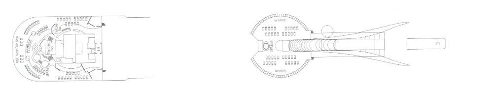 Палуба 18 Elios на круизен кораб MSC Divina - разположение на каюти, ресторанти, места за забавления и спорт