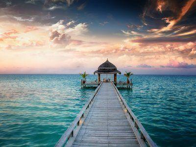 Описание и снимки на пристанище Мале, Малдивите от круизен маршрут