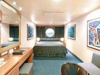 Описание на каюта Външни каюти - клас Fantastica на круизен кораб MSC Preziosa – обзавеждане, площ, разположение