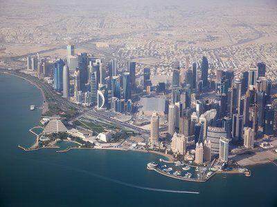 Описание и снимки на пристанище Доха, Катар от круизен маршрут