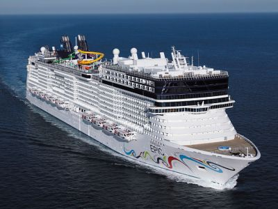 Круизен кораб Norwegian EPIC на Norwegian Cruise Line