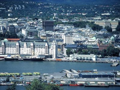 Описание и снимки на пристанище Осло, Норвегия от круизен маршрут