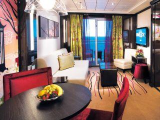Описание на каюта Family Villa с 2 спални H4 на круизен кораб Norwegian EPIC – обзавеждане, площ, разположение