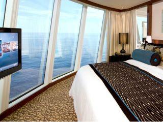 Описание на каюта Deluxe Owner's Suite H2 на круизен кораб Norwegian EPIC – обзавеждане, площ, разположение