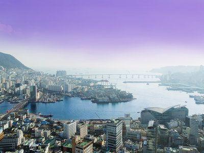 Описание и снимки на пристанище Бусан, Република Корея от круизен маршрут