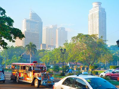 Описание и снимки на пристанище Манила, Филипини от круизен маршрут