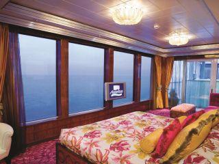 Описание на каюта The Haven Garden Villa - H1  на круизен кораб Norwegian Jade – обзавеждане, площ, разположение