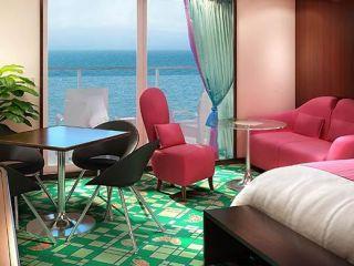 Описание на каюта Penthouse SE, SF на круизен кораб Norwegian Jade – обзавеждане, площ, разположение