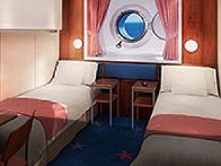 Описание на каюта Външна каюта – категория OF на круизен кораб Norwegian STAR – обзавеждане, площ, разположение