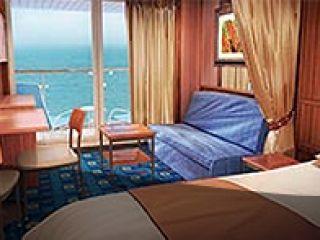 Описание на каюта Мини-апартамент – категория MB на круизен кораб Norwegian STAR – обзавеждане, площ, разположение